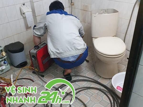 Dịch vụ thông cầu cống nghẹt Sơn Trà