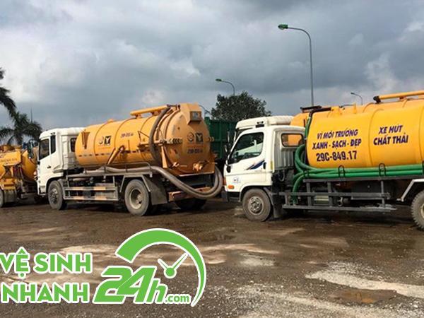 Hút hầm cầu Quảng Trị