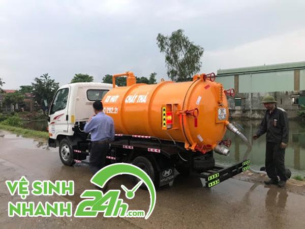 Hút hầm vệ sinh Quế Sơn