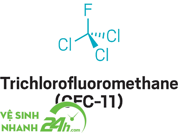 CFC 11 là loại phổ biến nhất