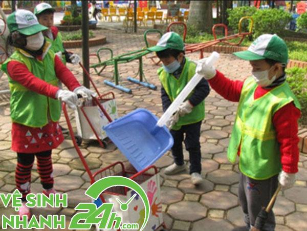 Giáo dục tác hại của xả rác bừa bãi