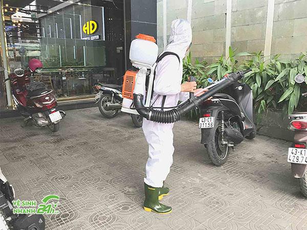 Phun khử khuẩn tại Đà Nẵng