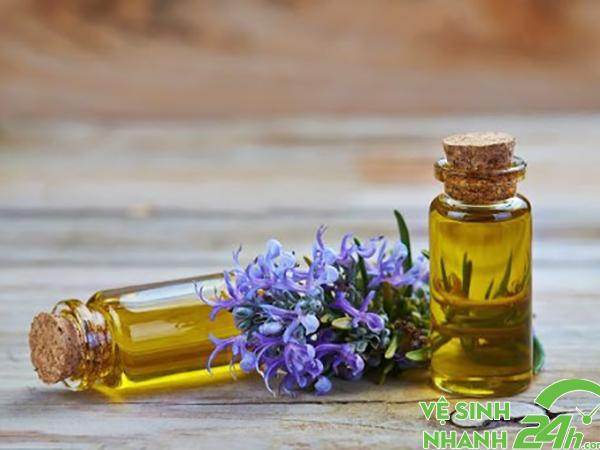 tinh dầu là một cách khử mùi đơn giản nhất