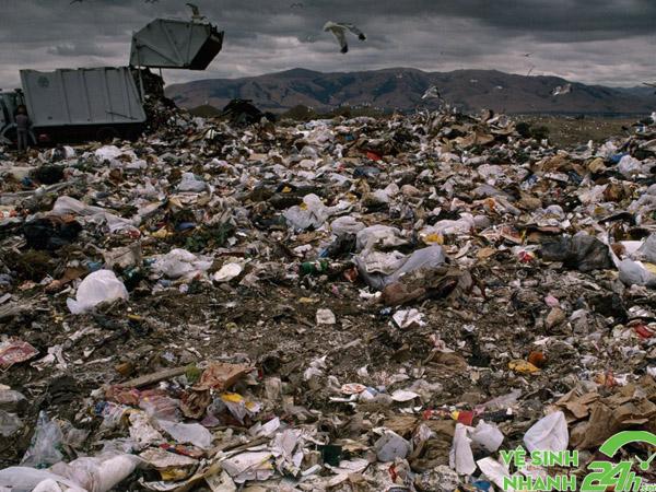 Ô nhiễm môi trường đất do hoạt động sản xuất