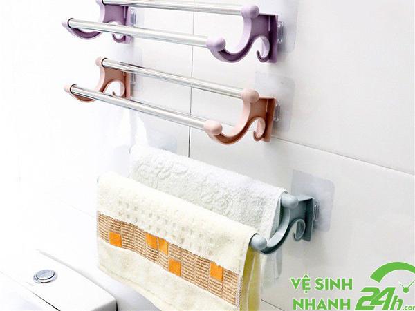 Hạn chế để khăn trong nhà vệ sinh