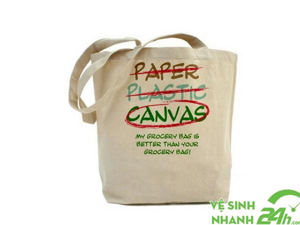 Hạn chế sử dụng túi nilon, túi nhựa